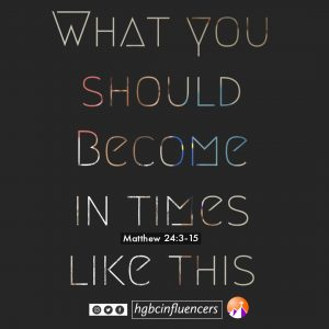 What You Should Become In Time Like This!