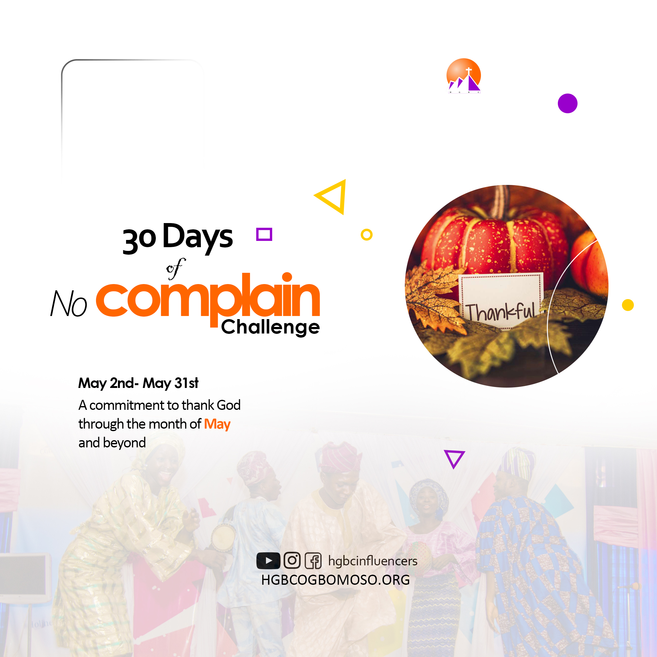 30 Days of No Complain Challenge