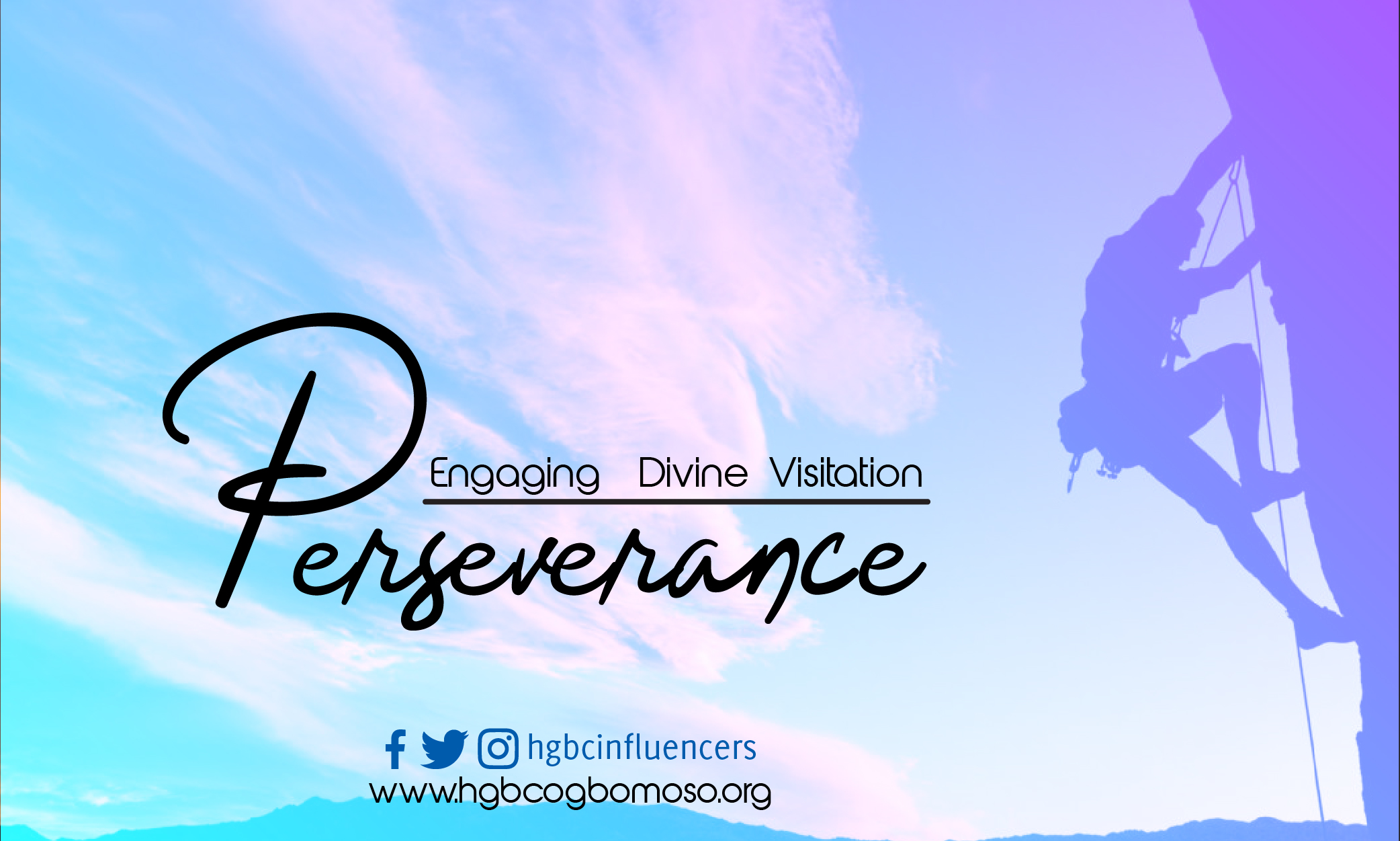 Engaging divine visitation through perseverance
